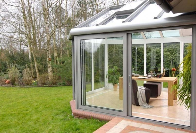 Алюминиевые окна – современное решение для обустройства частных домов, изображение №2