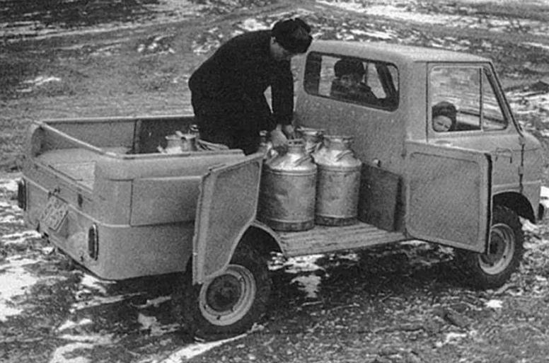 7 пикапов из СССР, изображение №9